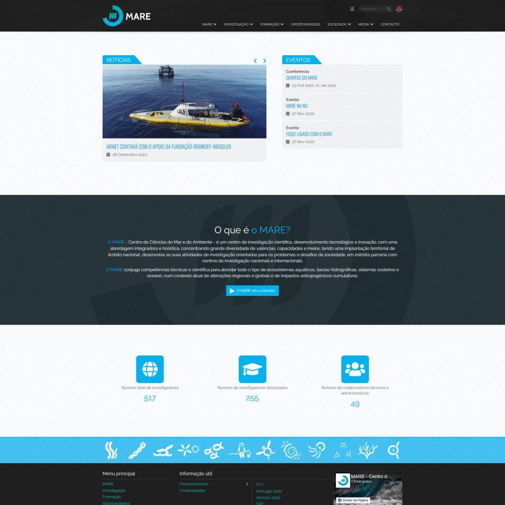 Diseño Web - Mare Centre   Cube4