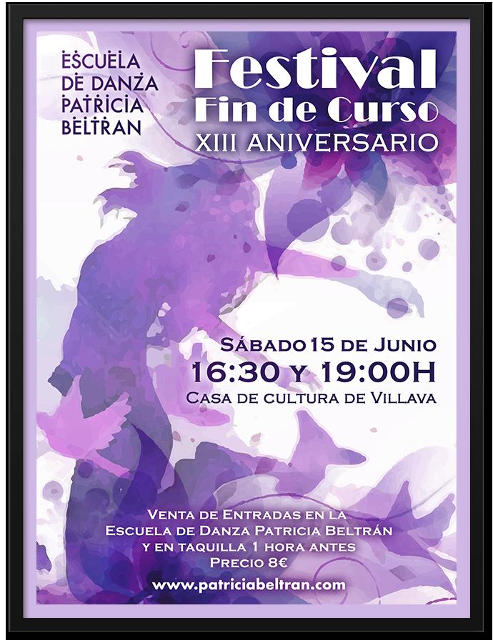 Poster - Festival Escuela de Danza   Cube4